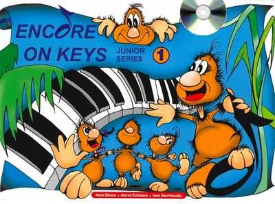 ENCORE ON KEYS JUNIOR SERIES CD KIT LEVEL 1