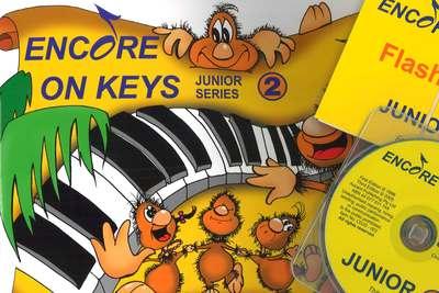 ENCORE ON KEYS JUNIOR SERIES CD KIT LEVEL 2
