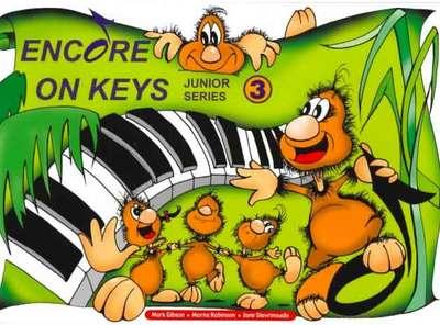 ENCORE ON KEYS JUNIOR SERIES CD KIT LEVEL 3