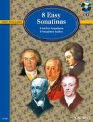 8 EASY SONATINAS FROM CLEMENTI TO BEETHOVEN BK/CD