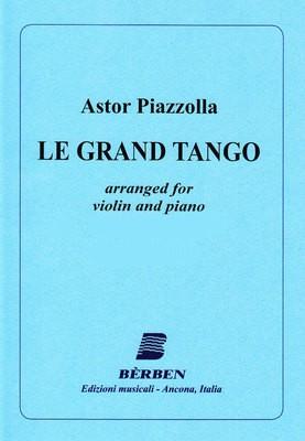 PIAZZOLLA   LE GRAND TANGO VIOLIN/PIANO ARR GUBAIDULINA