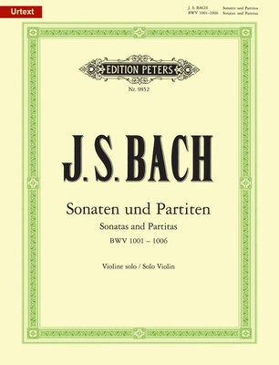 6 SONATAS AND PARTITAS BWV 1001 1006 VIOLIN SOLO URTEXT