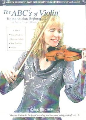 ABCS OF VIOLIN FOR ABSOLUTE BEGINNER DVD