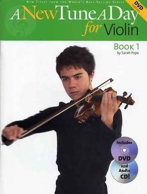 A NEW TUNE A DAY VIOLIN BK 1 BK/CD/DVD