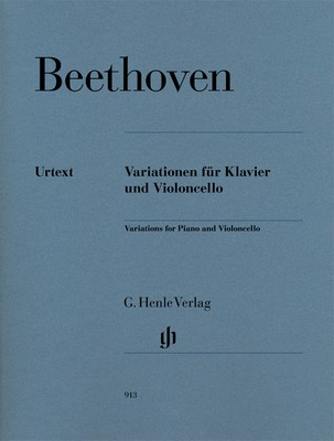 BEETHOVEN - VARIATIONS COMPLETE CELLO/PIANO