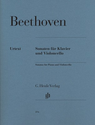 BEETHOVEN   SONATAS FOR CELLO AND PIANO