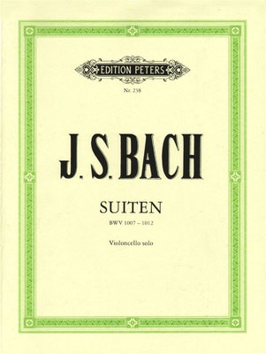 BACH   6 SUITES SOLO CELLO BWV 1007 1012