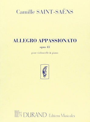 ALLEGRO APPASSIONATO OP 43 CELLO/PIANO