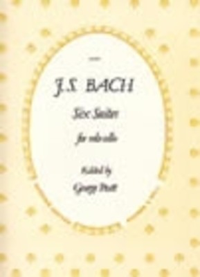 BACH   6 SUITES FOR CELLO BWV 1007 1012 ED PRATT SUCH