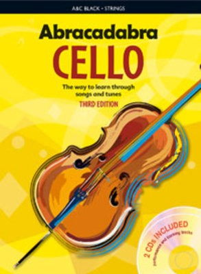 ABRACADABRA CELLO BK/2CD 3RD ED