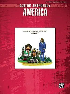 AMERICA GUITAR ANTHOLOGY GTR TAB
