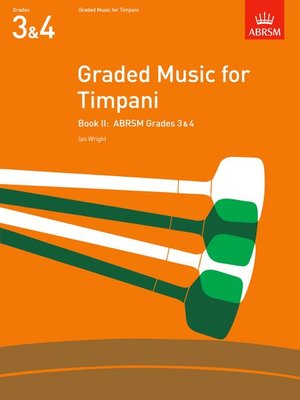 A B GRADED MUSIC TIMPANI BK 2 GR 3 4