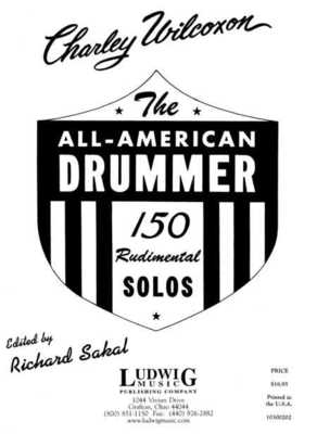 ALL AMERICAN DRUMMER 150 RUDIMENTAL SOLOS