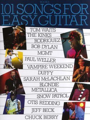 101 SONGS FOR EASY GUITAR BK 8