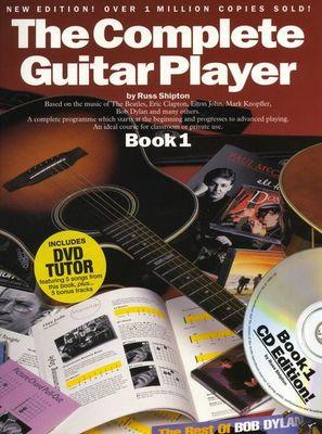 COMPLETE GUITAR PLAYER BK 1 BK/CD/DVD NEW ED GTR