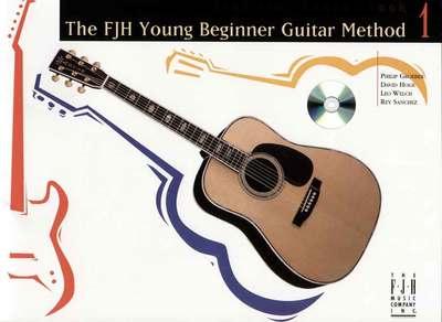 YOUNG BEGINNER GUITAR METHOD LESSON BK 1 BK/CD