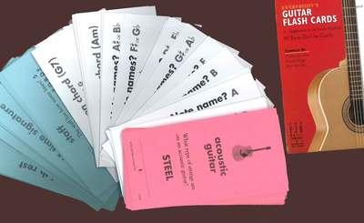 EVERYBODYS GUITAR FLASH CARDS