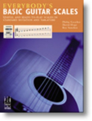 EVERYBODYS BASIC GUITAR SCALES & Cheap Music Books