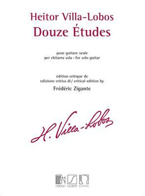 VILLA LOBAS   12 ETUDES FOR GUITAR