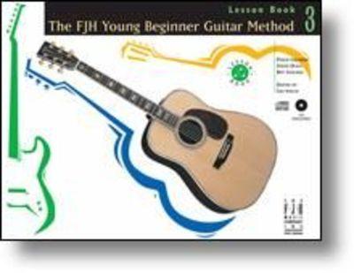 YOUNG BEGINNER GUITAR METHOD LESSON BK 3 BK/CD