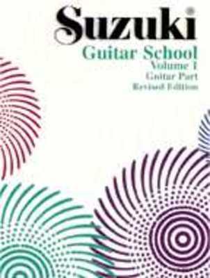 SUZUKI GUITAR SCHOOL BK 1