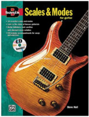 BASIX SCALES AND MODES GUITAR BK/CD