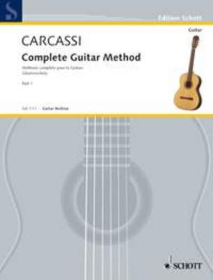 CARCASSI COMPLETE GUITAR METHOD BK 1 ENGLISH EDITION