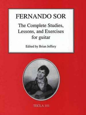 SOR   COMPLETE STUDIES LESSONS & EXERCISES FOR GUITAR