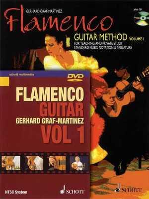 FLAMENCO GUITAR METHOD VOL 1 BK/CD ENGLISH EDITION