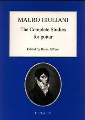 SOR   COMPLETE STUDIES FOR GUITAR ED JEFFERY