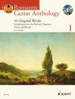 ROMANTIC GUITAR ANTHOLOGY BK 1 BK/CD GTR