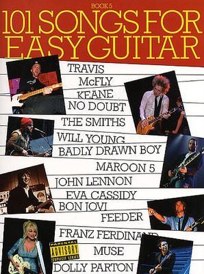 101 SONGS FOR EASY GUITAR BK 5