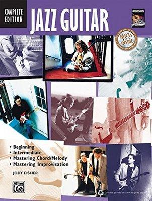 JAZZ GUITAR METHOD COMPLETE EDITION BK/CD