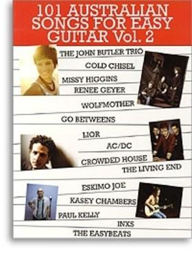 Cheap music books 101 australian songs for easy guitar bk 2 fandeluxe Choice Image