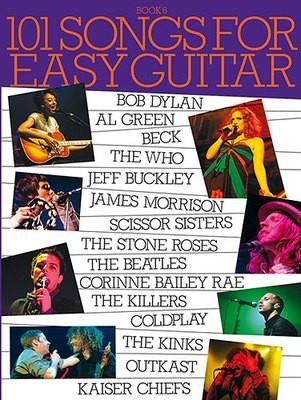 101 SONGS FOR EASY GUITAR BK 6