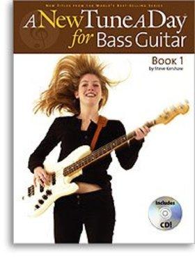 A NEW TUNE A DAY BASS GUITAR BK 1 BK/CD