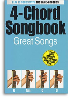 Cheap music books 4 chord songbook great songs fandeluxe Choice Image