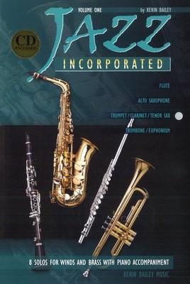JAZZ INCORPORATED BK 1 TPT / CLA / TEN SAX & PNO