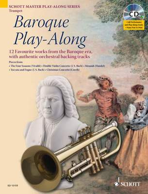 BAROQUE PLAY ALONG TRUMPET BK/CD