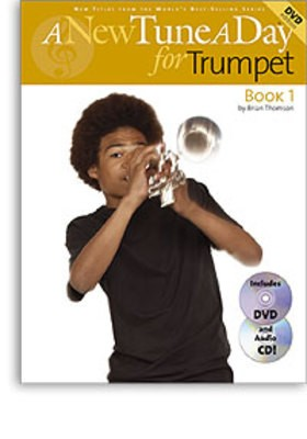 A NEW TUNE A DAY TRUMPET BK 1 BK/CD/DVD