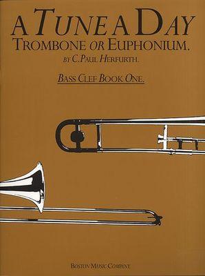 A TUNE A DAY TROMBONE/EUPHONIUM  BK 1 BASS CLEF