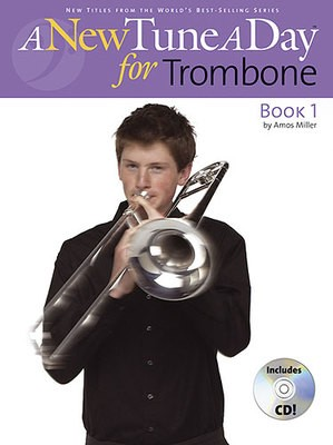 A NEW TUNE A DAY TROMBONE BK 1 BK/CD