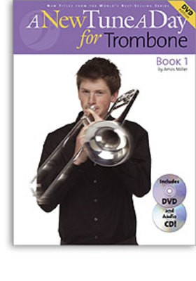 A NEW TUNE A DAY TROMBONE BK 1 BK/CD/DVD