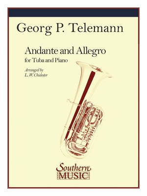 ANDANTE AND ALLEGRO TUBA PNO