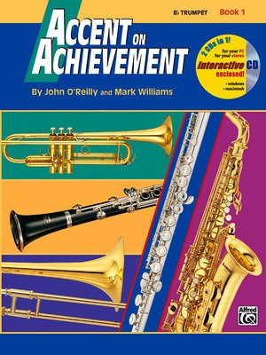 ACCENT ON ACHIEVEMENT BK 1 TRUMPET