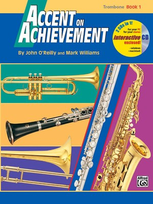 ACCENT ON ACHIEVEMENT BK 1 TROMBONE