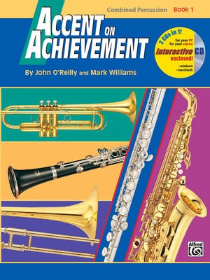 ACCENT ON ACHIEVEMENT BK 1 COMBINED PERCUSSION