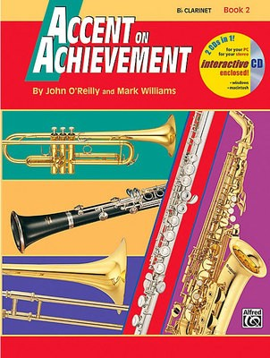 ACCENT ON ACHIEVEMENT BK 2 CLARINET