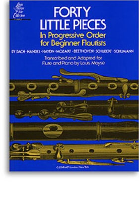 40 LITTLE PIECES FOR BEGINNER FLUTISTS ARR MOYSE