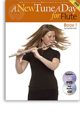 A NEW TUNE A DAY FLUTE BK 1 BK/CD/DVD